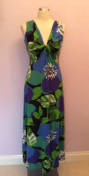 Phase Eight Floral Print Maxi Dress Size 12 - Whispers Dress Agency - Womens Dresses - 1