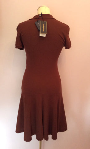Brand New Ralph Lauren Polo Brown Wimbledon Dress Size XS - Whispers Dress Agency - Sold - 3