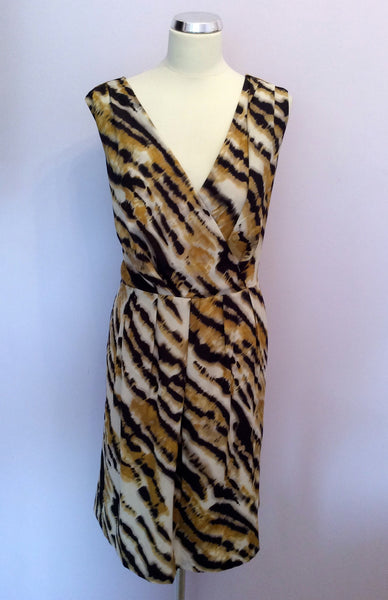 Brand New Marks & Spencer Autograph Print Dress Size 20 - Whispers Dress Agency - Womens Dresses - 1