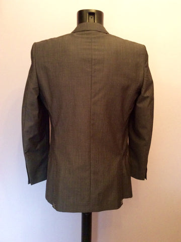 Brand New Jaeger Grey Wool & Mohair Contemporary Suit Jacket Size 38R - Whispers Dress Agency - Sold - 3