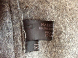 Prada Charcoal Grey Wool Blend Zip Up Jacket Size XL - Whispers Dress Agency - Sold - 8