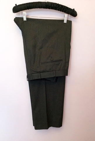 Moss Dark Grey Suit Size 42L/36W/32L - Whispers Dress Agency - Mens Suits & Tailoring - 5