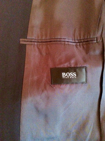 Hugo Boss Black Wool Suit Jacket Size 42 - Whispers Dress Agency - Mens Suits & Tailoring - 4