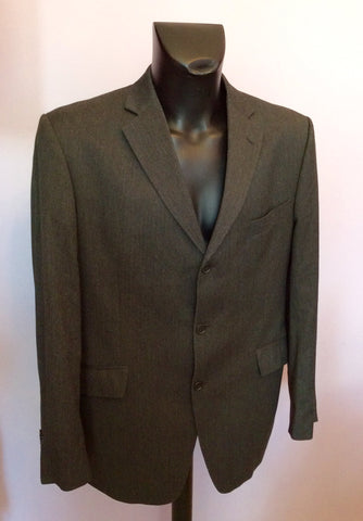 Moss Dark Grey Suit Size 42L/36W/32L - Whispers Dress Agency - Mens Suits & Tailoring - 2
