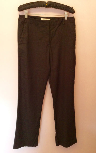 Nicole Farhi Black Wool Trousers Size 12 - Whispers Dress Agency - Sold - 1