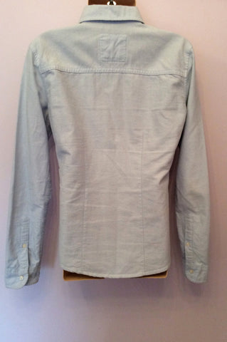 Abercrombie & Fitch Kids Light Blue Cotton Shirt Size L - Whispers Dress Agency - Boys shirts - 2
