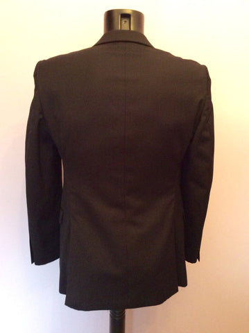 DKNY Dark Blue Wool Blend Suit Jacket Size 36S - Whispers Dress Agency - Mens Suits & Tailoring - 2