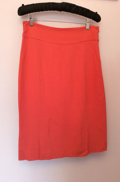 Brand New Marella Coral Pencil Skirt Size 12 - Whispers Dress Agency - Sold - 1