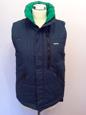 Rohan Dark Blue Padded Gilet/Body Warmer Size XS - Whispers Dress Agency - Womens Gilets & Body Warmers - 1