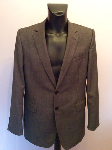 Jaeger 'Mayfair' Charcoal Grey Fleck Wool Suit Size 42R/34W - Whispers Dress Agency - Mens Suits & Tailoring - 2