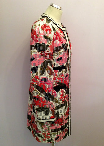 Brand New Dolce & Gabbana Multi Print Coat Size 46 Uk 14 - Whispers Dress Agency - Womens Coats & Jackets - 2