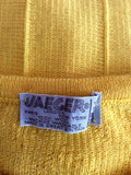 "Vintage Jaeger Yellow Sleeveless Jumper Size 34"" UK S/M - Whispers Dress Agency - Sold - 2"