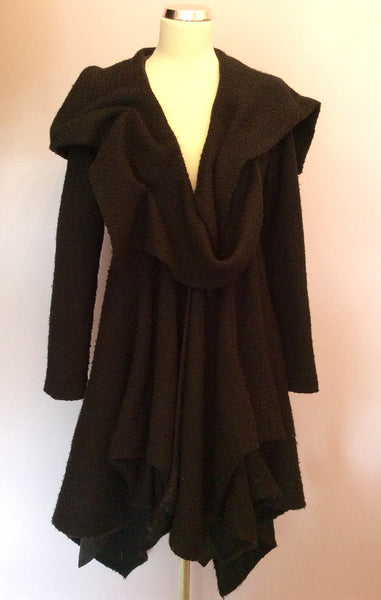 Kelly Ewing Black Quirky Coat Size 10 - Whispers Dress Agency - Sold - 1