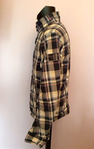 Abercrombie & Fitch Blue Check Hamilton Jacket Size XL - Whispers Dress Agency - Mens Coats & Jackets - 4