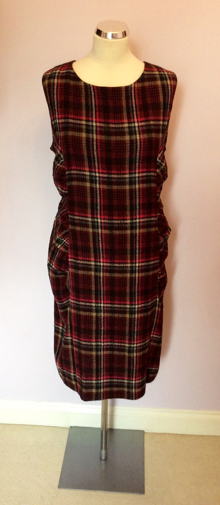 Phase Eight Check Pencil Dress Size 20 Whispers Dress Agency