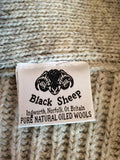 Black Sheep Oatmeal Pure Natural Oiled Wool Cardigan Size L - Whispers Dress Agency - Sold - 3