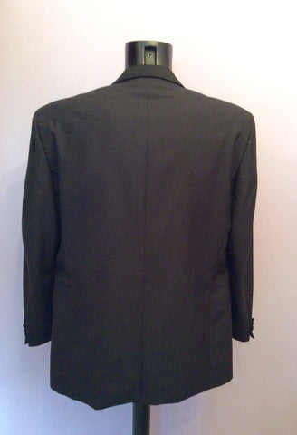 Scott & Taylor Black Tuxedo Wool Blend Suit Size 42R/ 36W - Whispers Dress Agency - Mens Suits & Tailoring - 4