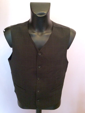 Tom English Charcoal Check Jacket, Waistcoat & 3 Pairs Of Trousers Suit Size 42S/38-40W - Whispers Dress Agency - Mens Suits & Tailoring - 4