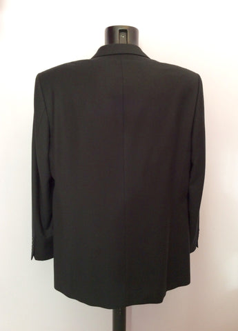 DESCH BLACK WOOL & CASHMERE SUIT JACKET SIZE 42R - Whispers Dress Agency - Mens Suits & Tailoring - 2