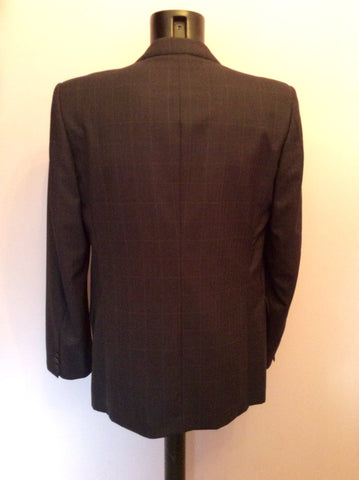 JAEGER CHARCOAL GREY CHECK WOOL SUIT SIZE 40R/36W - Whispers Dress Agency - Mens Suits & Tailoring - 3