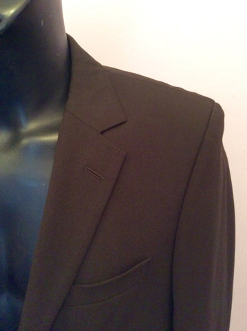 Hugo Boss Dark Brown Wool Suit Jacket Size 38R - Whispers Dress Agency - Mens Suits & Tailoring - 2