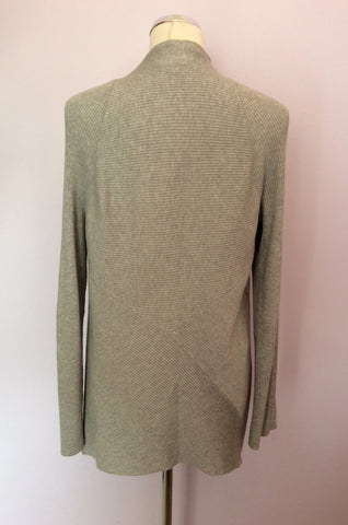 Ava Light Grey Cardigan Size 12 - Whispers Dress Agency - Womens Knitwear - 2