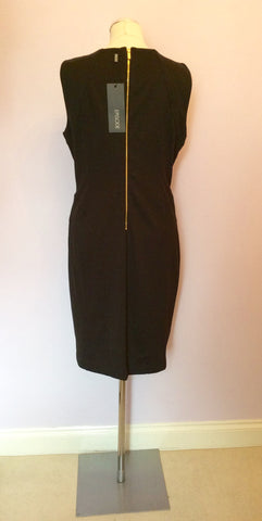 Brand New Episode Black & Gold Trim Ponte Pencil Dress Size 16 - Whispers Dress Agency - Womens Dresses - 3