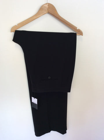 BRAND NEW JAEGER BLACK FORMAL TROUSERS SIZE 18 - Whispers Dress Agency - Sold - 1