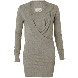 All Saints Grey Fine Knit Tane Dress Size 10 - Whispers Dress Agency - Sold - 1