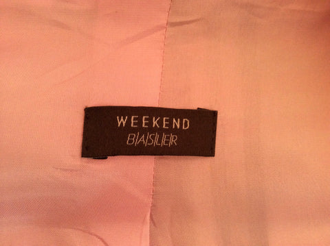 Basler Pink, White & Black Check Jacket Size 14 - Whispers Dress Agency - Womens Coats & Jackets - 3