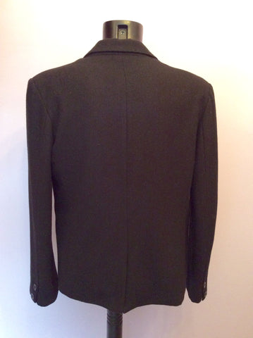 DESIGNER PEOPLES MARKET BLACK BUTTON TRIM JACKET SIZE L - Whispers Dress Agency - Mens Suits & Tailoring - 5