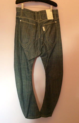 Humor Blue Santiago Drop Crotch Jeans Size 30W / 32L - Whispers Dress Agency - Mens Jeans - 2