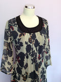 Brand New Coast Floral Print Silk Dress Size 16 - Whispers Dress Agency - Sold - 2