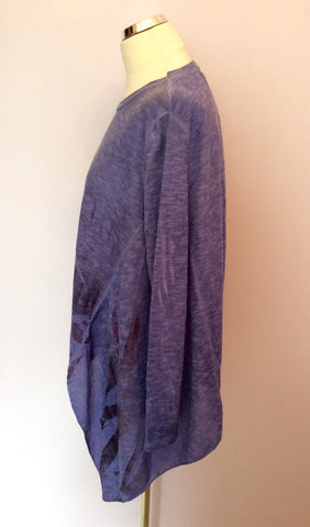 Obsession Purple Oversize Fine Knit Jumper One Size - Whispers Dress Agency - Womens Knitwear - 3