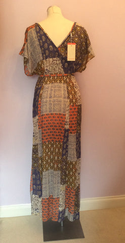 Brand New Monsoon Multi Print Maxi Dress Size Small - Whispers Dress Agency - Womens Dresses - 3