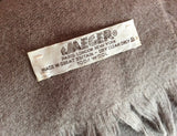 Vintage Jaeger Light Brown Lambswool Scarf - Whispers Dress Agency - Sold - 2