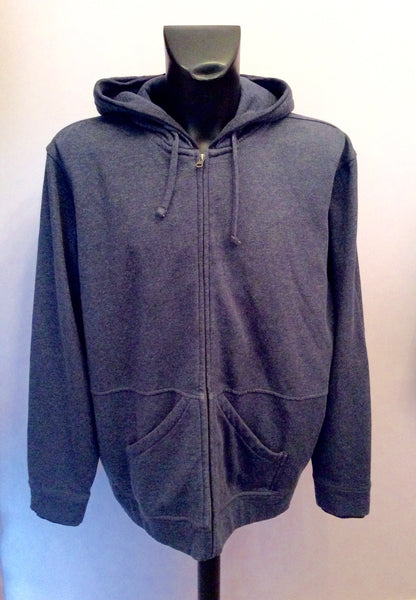 Brand New John Rocha Blue Hooded Zip Up Top Size XXL - Whispers Dress Agency - Mens Activewear - 1