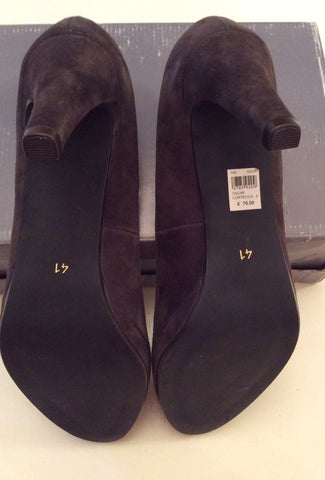 BRAND NEW JOHN LEWIS BROWN SUEDE HEELS SIZE 8/41 - Whispers Dress Agency - Womens Heels - 5