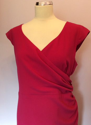 Alexon Pink Pencil Dress Size 18 - Whispers Dress Agency - Womens Dresses - 2