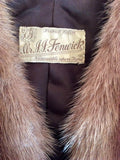 Vintage Mr JJ Fenwick Brown Fox Fur Stole - Whispers Dress Agency - Sold - 4