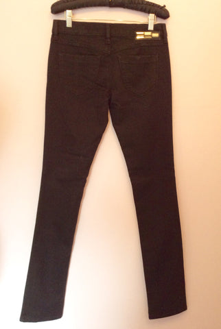 Brand New Diesel Black Livy Super Slim Straight Jeans Size 28W/32L - Whispers Dress Agency - Womens Jeans - 2