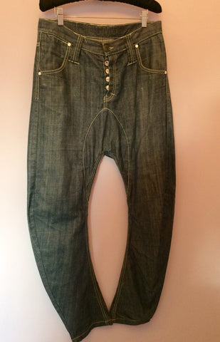 Humor Blue Santiago Drop Crotch Jeans Size 30W / 32L - Whispers Dress Agency - Mens Jeans - 1