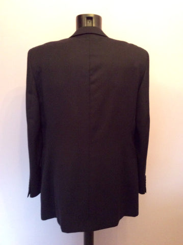 Yves Saint Laurent Black Wool Suit Jacket Size 42L - Whispers Dress Agency - Mens Suits & Tailoring - 3