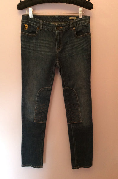 Ralph Lauren Polo Blue Crop Jeans Size 14 - Whispers Dress Agency - Sold - 1