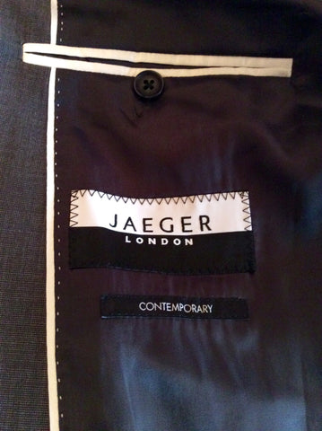 Brand New Jaeger Grey Wool & Mohair Contemporary Suit Jacket Size 38R - Whispers Dress Agency - Sold - 4