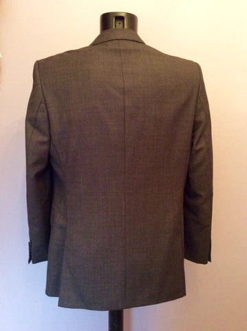 Jaeger 'Mayfair' Charcoal Grey Fleck Wool Suit Size 42R/34W - Whispers Dress Agency - Mens Suits & Tailoring - 4