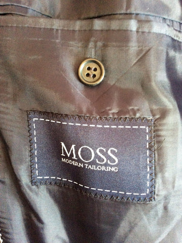 Moss Dark Grey Suit Size 42L/36W/32L - Whispers Dress Agency - Mens Suits & Tailoring - 4
