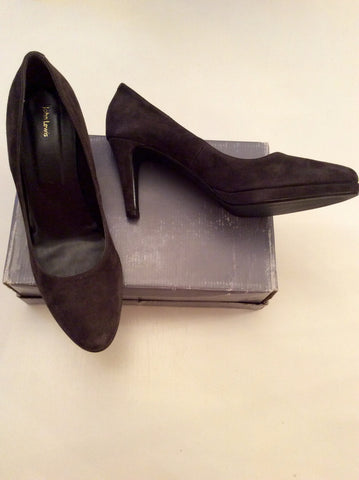 BRAND NEW JOHN LEWIS BROWN SUEDE HEELS SIZE 8/41 - Whispers Dress Agency - Womens Heels - 1