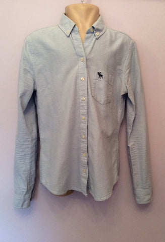Abercrombie & Fitch Kids Light Blue Cotton Shirt Size L - Whispers Dress Agency - Boys shirts - 1