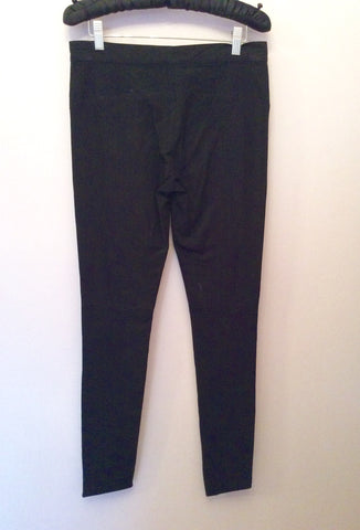 Joseph Black Skinny Leg Trousers Size  UK 8 - Whispers Dress Agency - Sold - 3